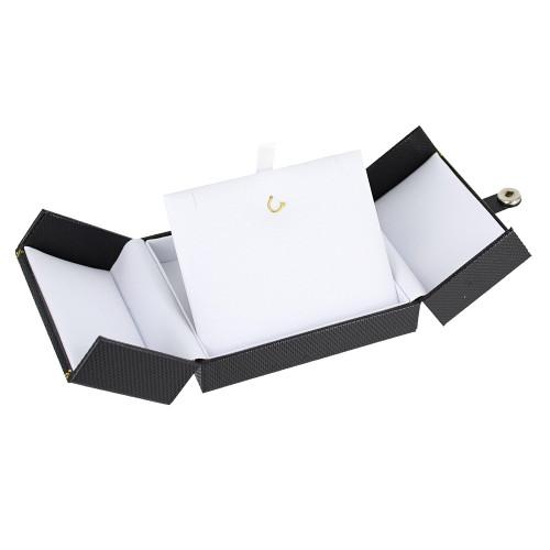 "Premiun Classic Style Pendant Box,3 1/2"" x 3"" x 1 1/2""H, 2 COLOR"