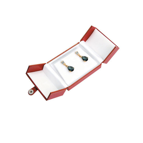 """Classic Style Bangle Box, 3 1/2"""" x 3"""" x 1 1/2"""", Choose from various Color"""