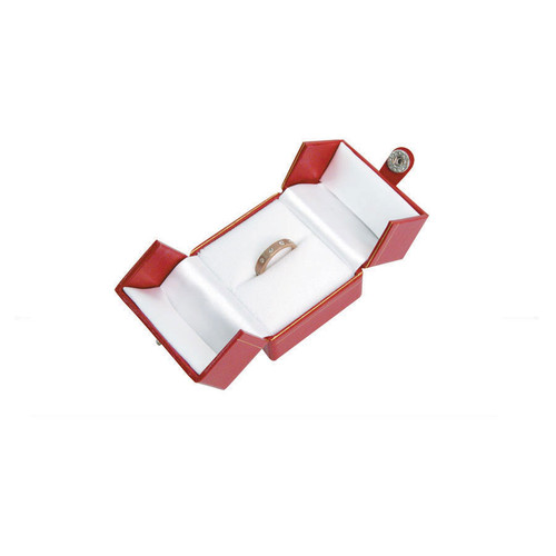 "Classic Style Ring Box, 2"" x 2 1/8"" x 1 3/4"" , Choose from various Color"