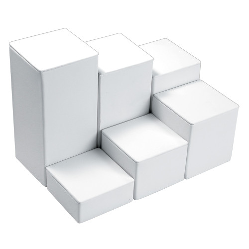"6-Pieces Square Set, 3 1/8"" Diag., 1 1/4""~6 1/4""H, Choose from various Color"