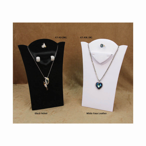 "Combination Necklace Display, 8 1/8"" x 11 3/8""H, Choose from various Color"