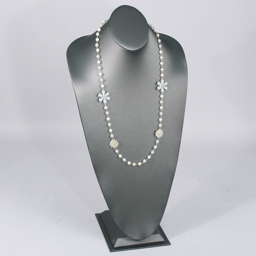 "Necklace Display Bust 11"" x 8 7/8"" x 22""H,Choose from various Color"