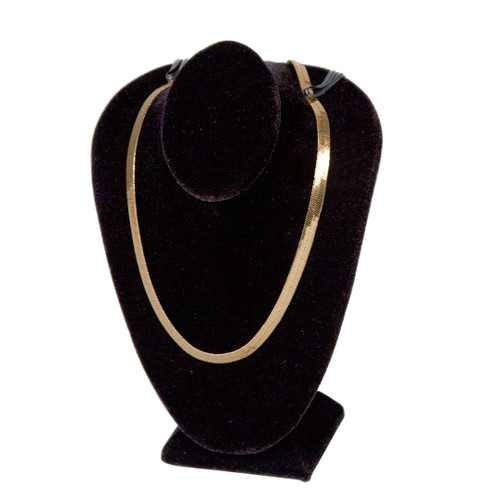 """Necklace Display Bust 4 1/2"""" x 2 1/2"""" x 5 1/2""""H,Choose from various Color"""