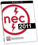 NFPA 70 National Electrical Code 2011