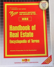 HANDBOOK OF REAL ESTATE (Encyclopedia of Terms)(Ships direct from PASSBOOKS  via USPS)