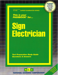 Sign Electrician(Ships direct from Passbooks via USPS)