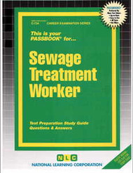 Sewage Treatment Worker(Ships direct from PASSBOOKS via USPS)