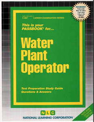 Water Plant Operator(Ships direct from PASSBOOKS via USPS)