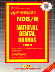 National Dental Board-Part 2(Ships direct from PASSBOOKS via USPS)