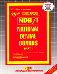 National Dental Board-Part 1(Ships direct from PASSBOOKS via USPS)