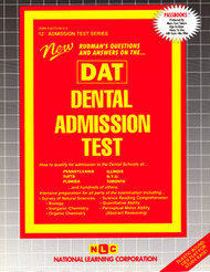 Dental Admission Test(Ships direct from PASSBOOKS via USPS)