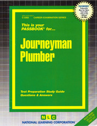 Journeyman Plumber(Ships direct from PASSBOOKS via USPS)