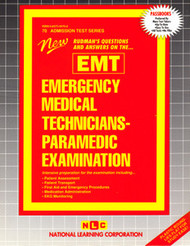 Emergency Medical Technician-Paramedic Examination(Ships direct from PASSBOOKS via USPS)