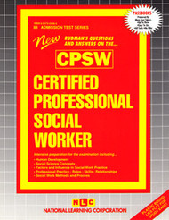 Certified Professional Social Worker(Ships direct from PASSBOOKS via USPS)