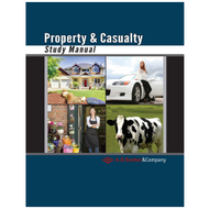 Property & Casualty Study Manual for CA