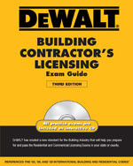 DEWALT® Building Contractor's Licensing Exam Guide