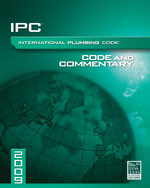 2009 International Plumbing Code Commentary