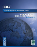2009 International Building Code Commentary, Volume 1
