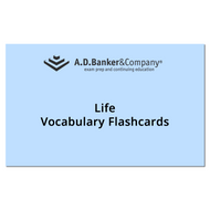 Life Only Vocabulary Flashcards