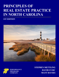 Principles of Real Estate Practice in North Carolina (1st Edition)