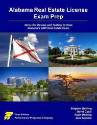 Alabama Real Estate License Exam Prep (PDF Version)