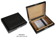 Small Leather Humidor
