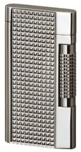 Sarome SD7 Classic Flint Lighter - Silver