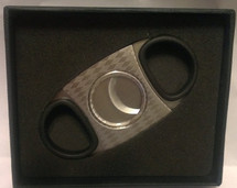 Regal Metal Cigar Cutter - Black