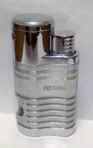 Regal Quad Flame Jet Cigar Lighter - Silver