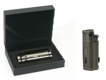 Regal Triple Jet Lighter - Chrome