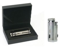 Regal Triple Jet Lighter - Silver