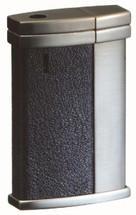 Sarome SK108 Electronic Lighter - Black Shrink Leather