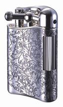 Sarome PSD12 Flint Lighter - Antique Silver