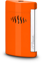 S.T. Dupont MiniJet Lighter - Coral Orange