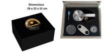 Humidor Gift Set - Cohiba Design