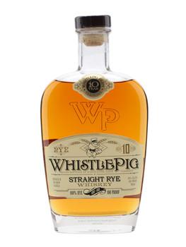 Whistlepig Straight Rye 10 YO Whiskey