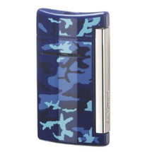 S.T. Dupont MiniJet Lighter Blue Camo