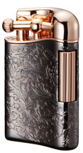 Sarome PSD12 Flint Lighter -Gun Metal Rose Gold