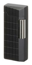 Sarome SD41 Flint Lighter - Matte Black Diamond Cut