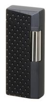 Sarome SD41 Flint Lighter - Black Dimple