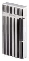 Sarome SD6 Flint Lighter - Silver Diamond Cut