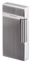 Sarome SD6 Flint Lighter - Silver Diamond Cut