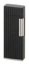 Sarome SD9 Flint Lighter - Matte Black Diamond Cut