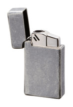 Sarome BM15 Jet Flame Lighter - Silver Barrel Finish
