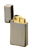 Sarome BM15 Jet Flame Lighter - Brass Barrel Finish