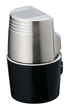 Sarome T3BM Monster Triple Jet Lighter - Black Silver