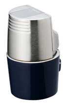 Sarome T3BM Monster Triple  Jet Lighter - Blue Silver