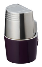 Sarome T3BM Monster Triple Jet Lighter - Purple Silver