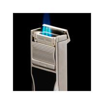 Sarome 3BM1 Triple Jet Lighter - Black Epoxy Resin with Punch
