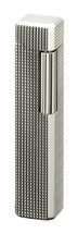 Sarome PSD36 Pipe Lighter - Silver Latice Diamond Cut